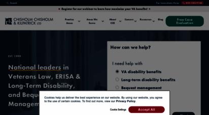 cck-law.com - veterans law, erisa & ltd, and bequest management  cck law