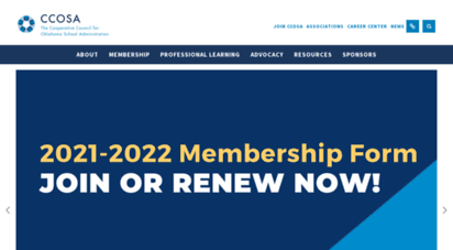 ccosa.org - cooperative council for oklahoma school administration