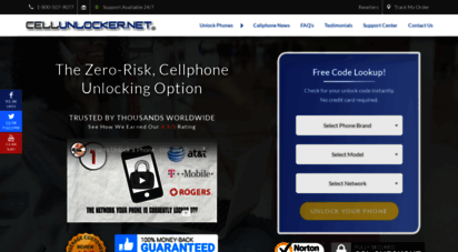 cellunlocker.net - unlock codes & network cellphone unlocking  cellunlocker.net