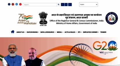 censusindia.gov.in - census of india website : office of the registrar general & census commissioner, india