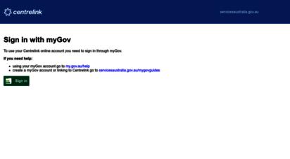 centrelink.gov.au -