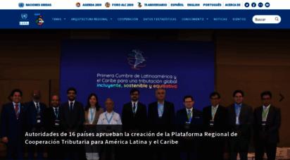 cepal.org - comisin econmica para américa latina y el caribe