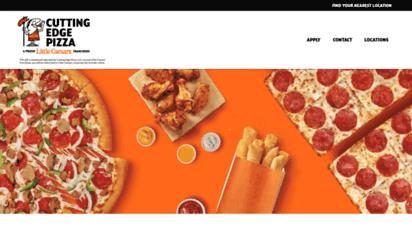 cepizza.com - home  cutting edge pizza, llc