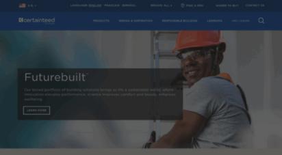 certainteed.com - certainteed  home
