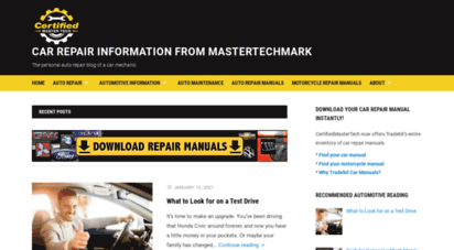 certifiedmastertech.com - auto repair business secrets