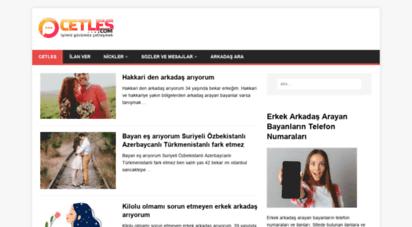 cetles.com - arkadaş arayanların chat sitesi