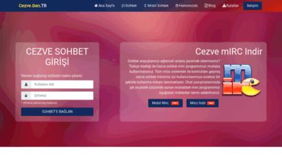 cezve.gen.tr - chat sohbet odaları kaliteli mobil sohbet siteleri