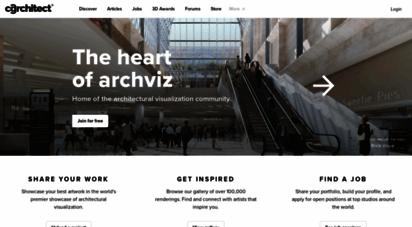 cgarchitect.com - cgarchitect - architectural visualization - exposure, inspiration & jobs