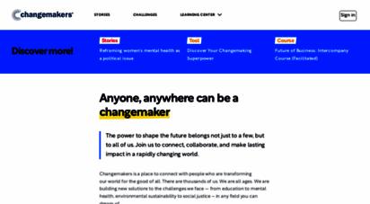 changemakers.com - changemakers