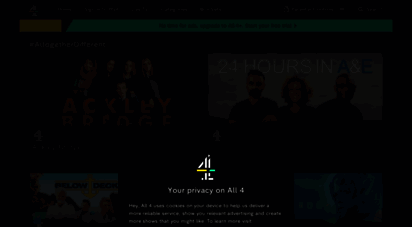 channel4.com - all 4  the on-demand channel from 4