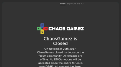 chaosgamez.com -