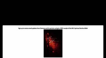 charismamag.com - charisma magazine