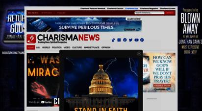 charismanews.com - charisma news  breaking news. spiritual perspective.