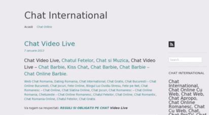 chat international gratuit