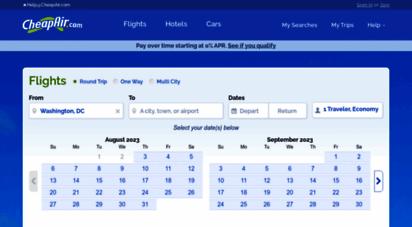 cheapair.com - cheap airline tickets, airfares & discount air tickets  cheapair