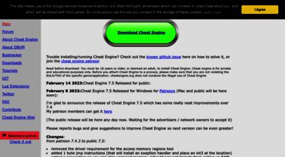 cheatengine.org -