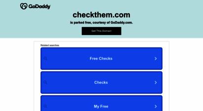 checkthem.com - online background checks & public records search - checkthem.com