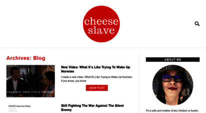 cheeseslave.com - cheeseslave — for the love of cheese. and butter. and bacon. and all those other things we´re not supposed to eat.