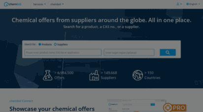chembid.com - chembid - find and compare offers for chemicals