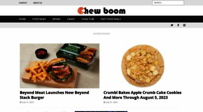 chewboom.com - chew boom  food news and culture