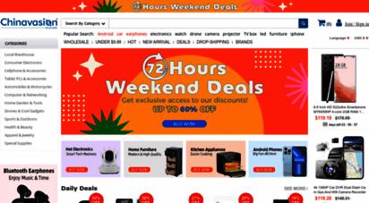 chinavasion.com - china wholesale - electronics gadgets clothing bulk wholesale online grocery  chinavasion