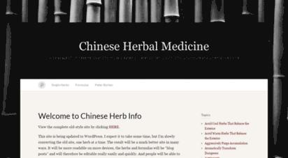 chineseherbinfo.com
