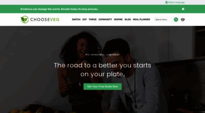 chooseveg.com - chooseveg.com: a guide to vegetarian and vegan living