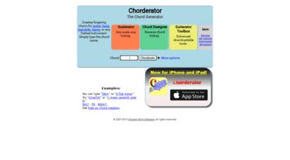 chorderator.com