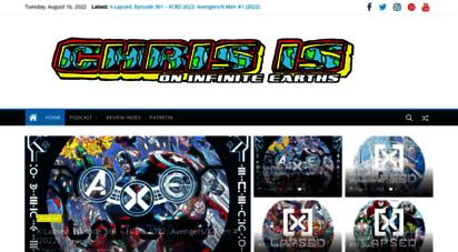 chrisisoninfiniteearths.com - chris is on infinite earths