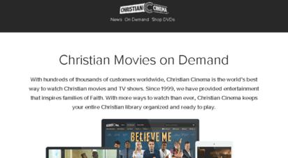 christiancinema.com - christian movies on demand