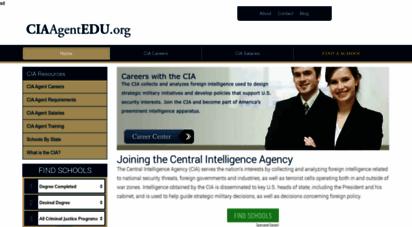ciaagentedu.org - how to become a cia agent  cia agent education