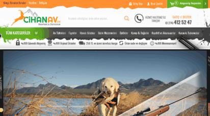 cihanav.com - cihanav.com - türkiye´nin online av malzemeleri ve kamp malzemeleri mağazası