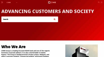 cimb.com - corporates & business  investors  cimb
