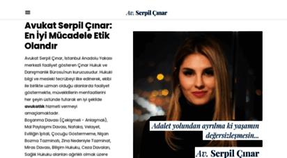 cinar.av.tr - avukat serpil çınar - hukuk ve danışmanlık bürosu - istanbul