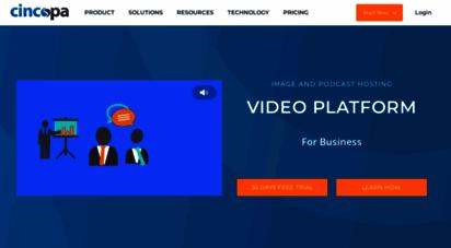 cincopa.com - cincopa: video hosting, photo galleries, html slideshows and more