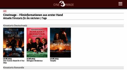 cineimage.ch - schweizer filmstarts der nächsten 7 tage