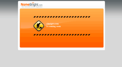 cineiptv.com - namebright - coming soon