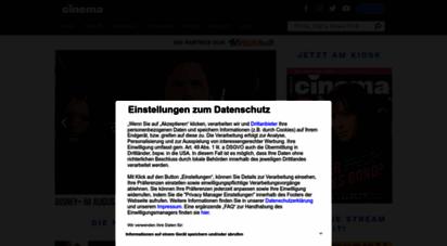 cinema.de - kino bei cinema: kinoprogramm, filme, dvds, stars, trailer und mehr - cinema.de