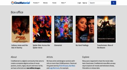 cinematerial.com - cinematerial - 1 movie poster database