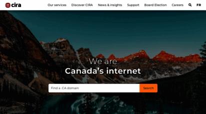 cira.ca - home  canadian internet registration authority cira