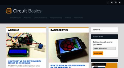 circuitbasics.com - circuit basics - arduino, raspberry pi, and diy electronics tutorials