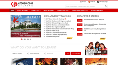 Welcome to Ciss at0086 com - CISS-Study in China and get