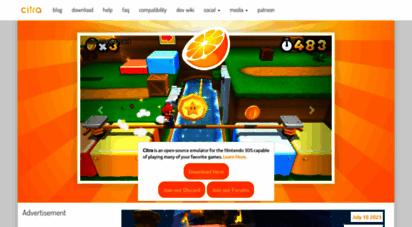 citra-emu.org - citra - nintendo 3ds emulator