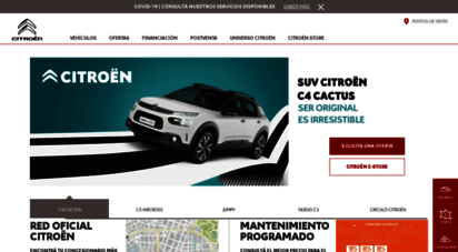 citroen.com.ar - home page