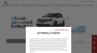 citroen.hu - új autk  személygépkocsik és haszongépjárművek  vevőszolgálat - citroën magyarország
