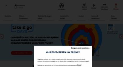 citroen.nl - citroën personenauto´s en bedrijfswagens - comfort, innovatie, design
