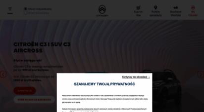citroen.pl - citroën - samochody dla klientw indywidualnych i biznesowych - citroën polska