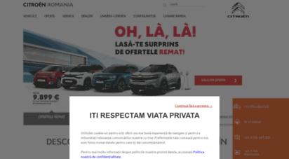 citroen.ro - citroën romania home page