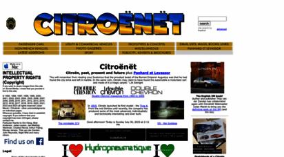 citroenet.org.uk - citroënët
