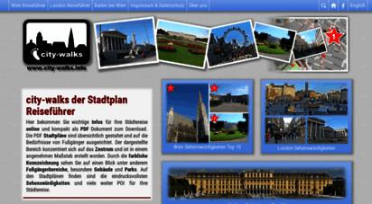 city-walks.info - city-walks stadtplan reiseführer